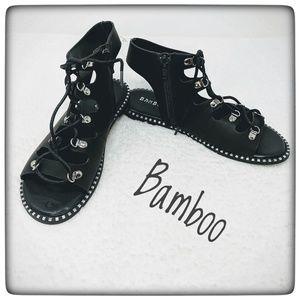 NWOT ~ BAMBOO Roman Gladiator Sandals